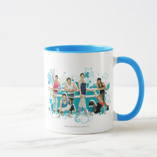 Dance Academy Cast Graphic Mug