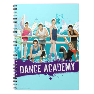 Dance Academy Cast Graphic Note Book