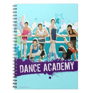 Dance Academy Cast Graphic Notebook