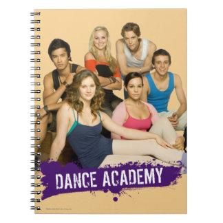 Dance Academy Cast Notebook