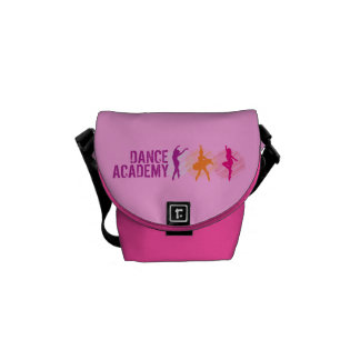 Dance Academy Color Dancers Logo Courier Bags