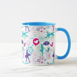 Dance Academy Pattern Mug