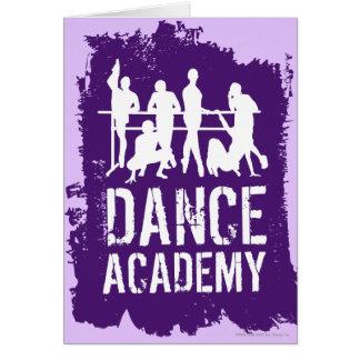 Dance Academy Silhouettes Logo Card