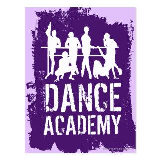 Dance Academy Silhouettes Logo Postcard
