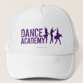 Dance Acadmey Dancer Silhouettes Logo Trucker Hat