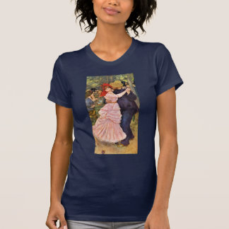 Dance At Bougival By Pierre-Auguste Renoir T-Shirt