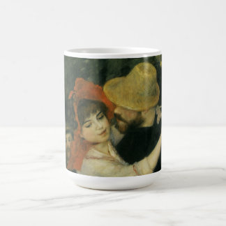 Dance at Bougival by Pierre Renoir, Vintage Art Coffee Mug