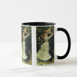 Dance at Bougival by Pierre Renoir, Vintage Art Mug