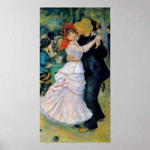Dance at Bougival by Renoir Fine Art Print Poster