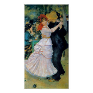 Dance at Bougival Renoir Fine Art Print