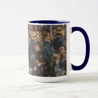 Dance at Le Moulin de la Galette by Pierre Renoir Mug