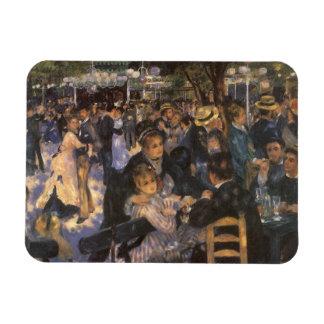 Dance at Le Moulin de la Galette by Pierre Renoir Rectangular Photo Magnet