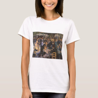Dance at Le Moulin de la Galette by Pierre Renoir T-Shirt