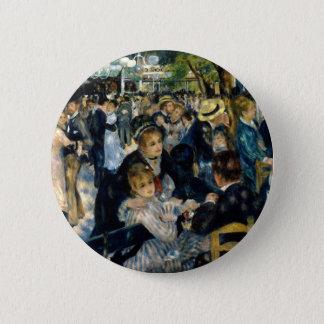 Dance at Le Moulin de la Galette by Renoir 6 Cm Round Badge