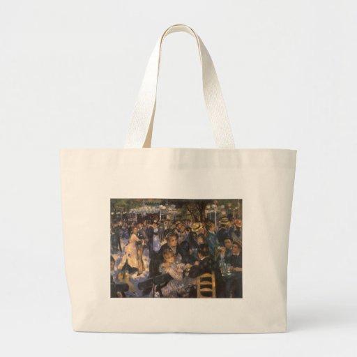 Dance at Le Moulin de la Galette by Renoir Canvas Bag