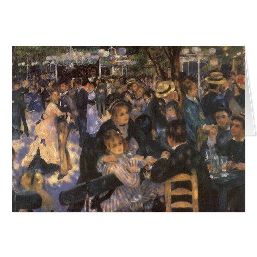 Dance at Le Moulin de la Galette by Renoir Greeting Card