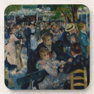 Dance at Le Moulin de la Galette by Renoir Beverage Coaster
