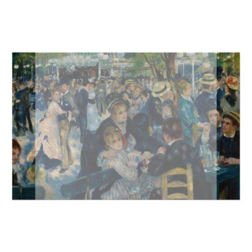 Dance at Le Moulin de la Galette by Renoir Full Color Flyer