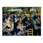 Dance at Le Moulin de la Galette by Renoir Post Card