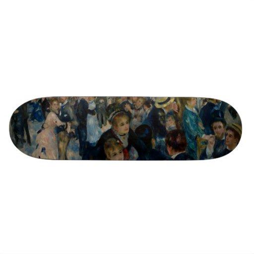Dance at Le Moulin de la Galette by Renoir Custom Skate Board