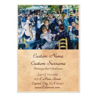Dance at the Moulin de la Galette Auguste Renoir Pack Of Chubby Business Cards