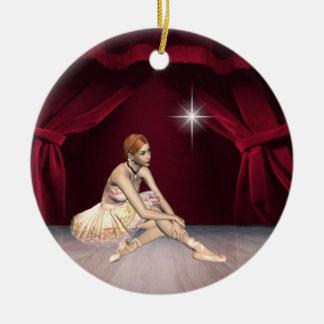 Dance Ballerina Christmas Ornament