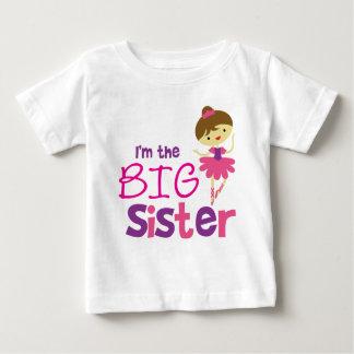 Dance Ballet Big Sister Baby T-Shirt