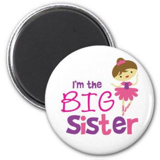 Dance Ballet Big Sister Magnet