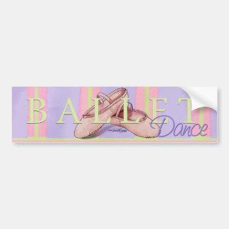 Dance - Ballet Slippers bumper sticker
