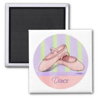 Dance - Ballet Slippers magnet