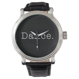Dance. Black And White Dance Quote Template Watch