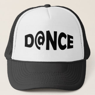 Dance black trucker hat