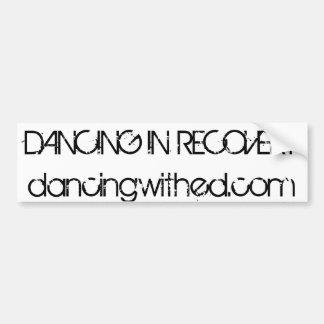 dance bumper sticker, dance stickers, dance stuff bumper sticker