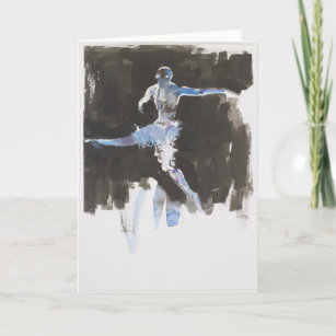 Male Dancer Dancing Movement Graceful Athletic Leaping Jumping Study Ballet Ballerino Danseur Gifts Gift Ideas Zazzle Uk