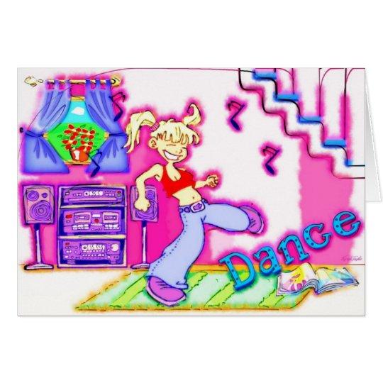 Dance! Card