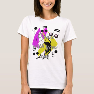 Dance Cat Jazz  Music Artsy Fun Cats Inspiring Art T-Shirt