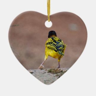 Dance Ceramic Heart Decoration