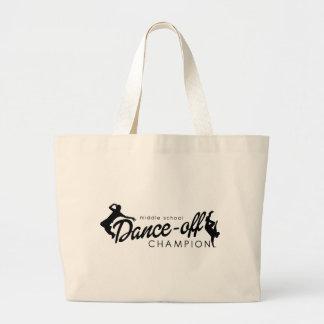 Dance Champion Jumbo Tote Bag