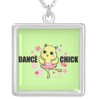 Dance Chick Necklace (customizable)