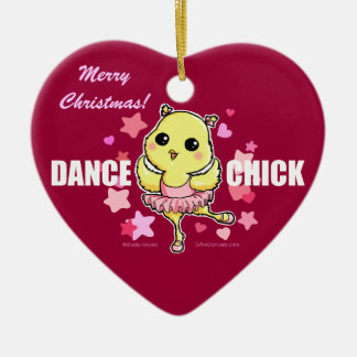 Dance Chick Ornament (customizable)