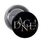 Dance! (Chrome) 6 Cm Round Badge