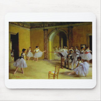 Dance Class at the Opera by Degas Mouse Mat