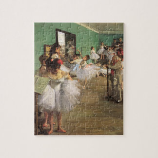 Dance Class by Degas, Vintage Impressionism Ballet Jigsaw Puzzle