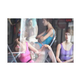 """Dance Class"" jjhelene Premium Wrapped Canvas"