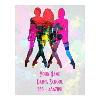 Dance Class or Teacher Colorful Flyer