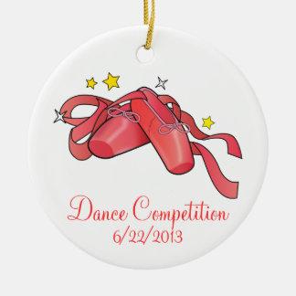Dance Competition Commemorative Ornament