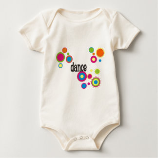 Dance Cool Polka Dots Baby Bodysuit