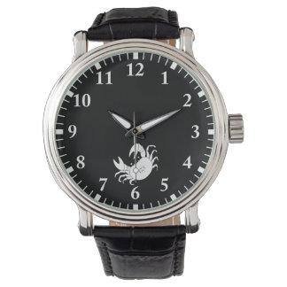 Dance crab wristwatch