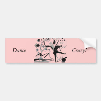 Dance Crazy! Bumper Sticker