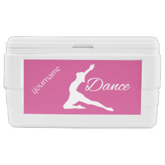 DANCE custom monogram & color cooler